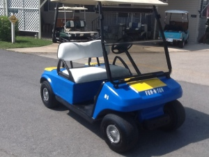 Golf Cart Photos | Connolly Wood Crafting and Golf Carts